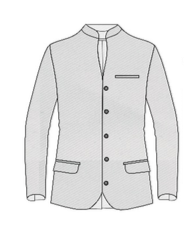 Chinese Collar Style Coat